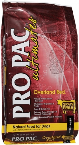 PRO PAC Ultimates Grain-Free Overland Red Dog Food