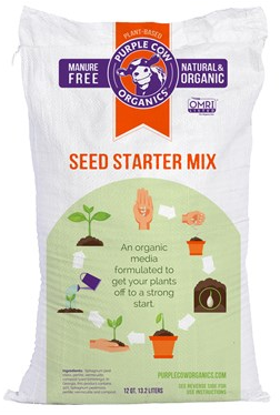 Purple Cow Organics Seed Starter Mix 12 Qt.