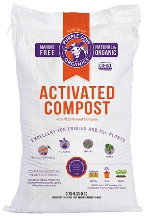 Purple Cow Organics Activated Compost 1 Cu. Ft.