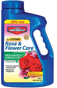 Bayer 2 In 1 Systemic Rose & Flower Care Granules III 5lb
