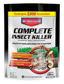 Bio Advanced Complete Brand Insect Killer For Soil & Turf Granules 11.5lb