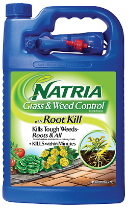 NATRIA Grass & Weed Control With Root Kill 1 Gallon RTU