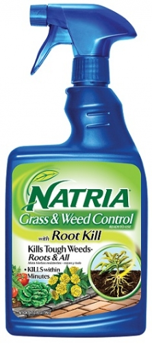 NATRIA Grass & Weed Control With Root Kill 24oz RTU