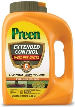 Preen Extended Control Weed Preventer 4.93lb
