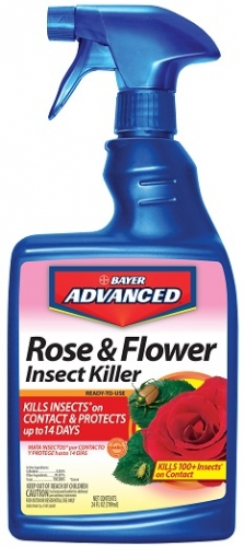 Bayer Rose & Flower Insect Killer 24oz RTU