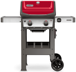 Spirit II E-210 Gas Grill Red
