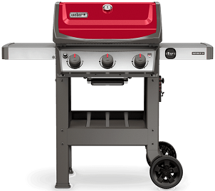 Spirit II E-310 Gas Grill Red