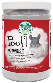 Poof! Chinchilla Dust Bath
