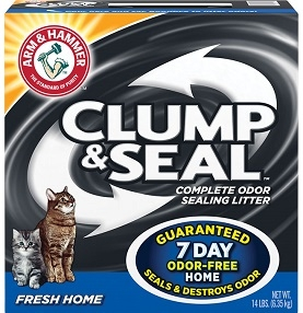 Clump & Seal™, Complete Odor Sealing Clumping Litter, Fresh Home