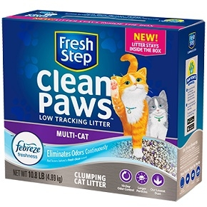 Clean Paws™ Multi-Cat Scented Litter with the power of Febreze™