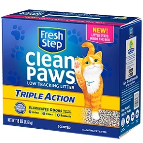 CLEAN PAWS™ TRIPLE ACTION SCENTED LITTER