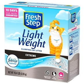 Extreme Lightweight Scented Litter with the power of Febreze™