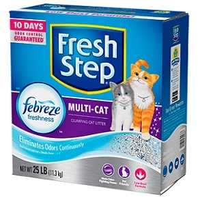 Multi-Cat Scented Litter with the power of Febreze™