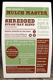 THE ORIGINAL MULCH MASTER SHREDDED STRAW/HAY BLEND 3.5 CF