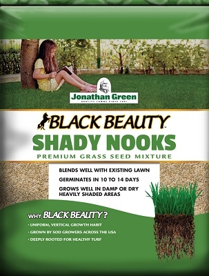 Jonathan Green Black Beauty® Shady Nooks™ Mixture Grass Seed