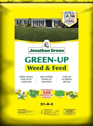 Jonathan Green Green-Up Weed & Feed Lawn Food 21-0-3