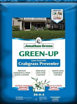 Jonathan Green Green-Up Lawn Food with Crabgrass Preventer 21-0-3