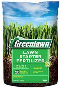 Greenlawn Lawn Starter Fertilizer 18-24-6