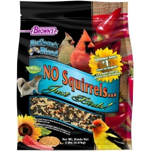 Brown's Bird Lover's Blend® No Squirrels…Just Birds!™ with Sunflower Seeds