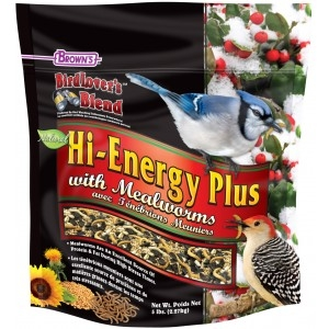 Brown's Bird Lover's Blend® Hi-Energy Plus™ with Mealworms
