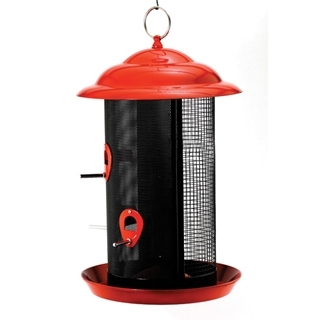Feathered Friend Metal Mesh Combo Screen Bird Feeder Large