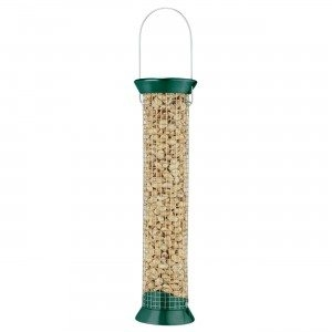Droll Yankees New Generation 13″ Peanut Feeder with Green Accents