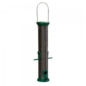 Droll Yankees New Generation 15″ Green Sunflower Seed Bird Feeder