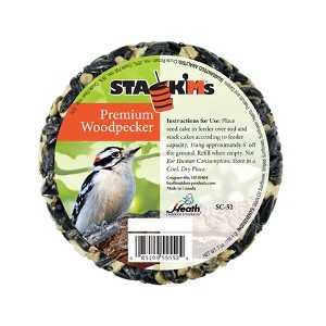 Premium Woodpecker Stack'Ms Seed Cake 7 oz