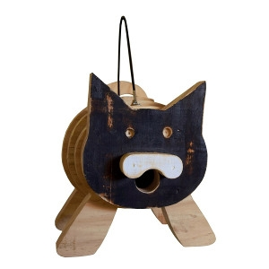 Welliver Stacks Cat Bird House