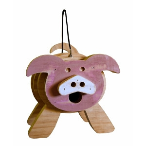 Welliver Stacks Pig Bird House