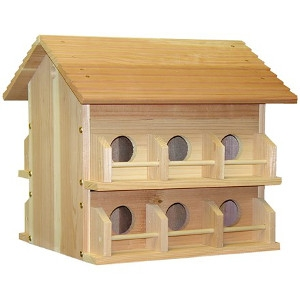 Wood Purple Martin House