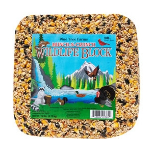 Pine Tree Farms Munch-n-crunch Wildlife Block