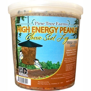 Pine Tree Farms High Energy Peanut Classic Suet Log