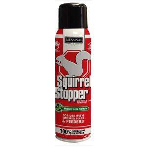 Messinas Squirrel Stopper Pressurized Spray Can