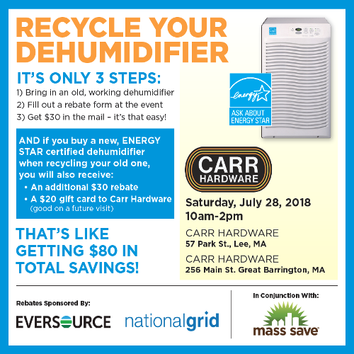Recycle Your Dehumidifier Event!