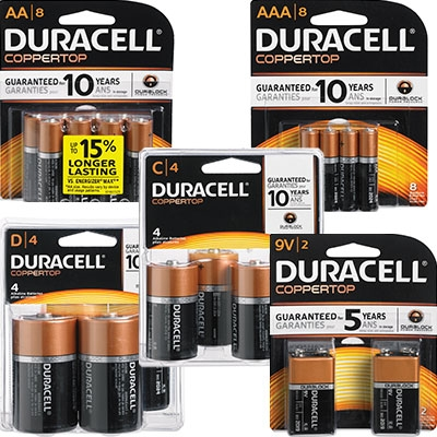 Duracell Long-Life Batteries