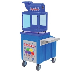 Insulated Caddy for Snow Cones Machine, With Shelf