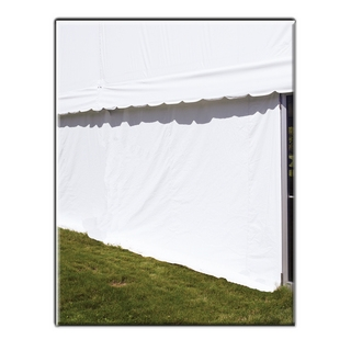 Tent Side 30' White Panel