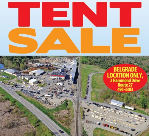 Semi-Annual Tent Sale