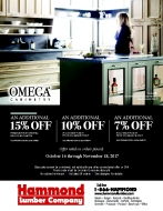 Savings On Omega Cabinetry - Kitchen