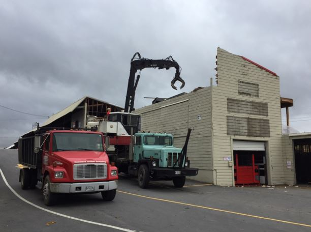 Hammond Lumber Company cleaning up after 2017 maine wind storm