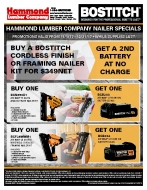 Bostitch Nailer Specials - Tool