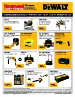 DeWalt Holiday Specials