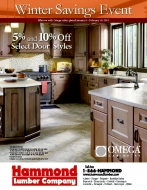 Omega Cabinetry Winter Savings- Kitchen