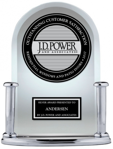 Andersen Receives Silver Award from J.D Power!