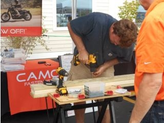 Hammond Lumber hosts 2 CAMO Screw Off! Qualifier events!