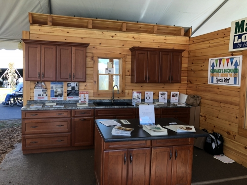 Hammond Lumber wins Best Display at 2017 Fryeburg Fair