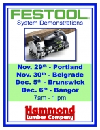 Festool Demo Days!