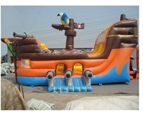 Inflatable - Bouncer combo - large Pirate ship