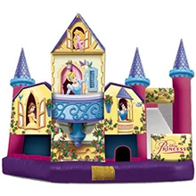 Inflatable - Bouncer combo, XL - Disney Castle